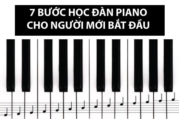 7 bước học đàn piano cho người mới bắt đầu