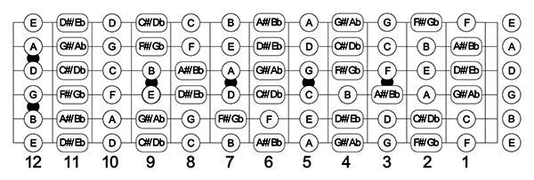 học nốt nhạc guitar 2