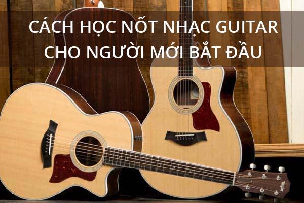 học nốt nhạc guitar