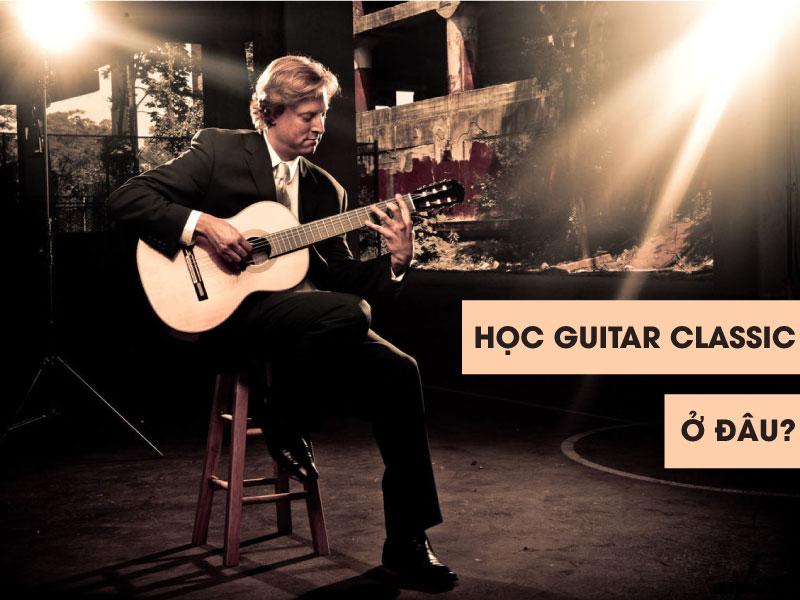 học guitar classic ở đâu?