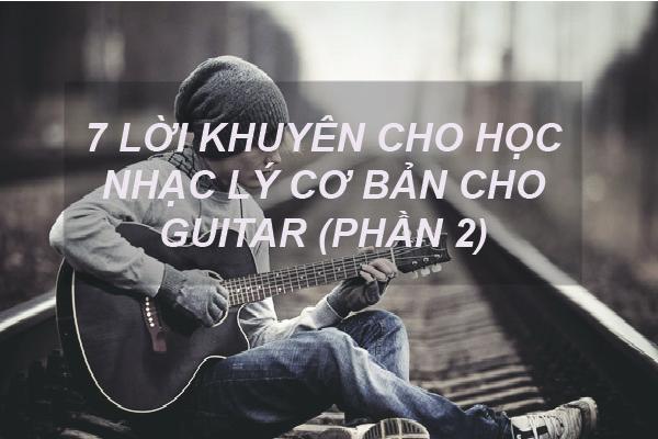 học nhạc lý guitar cơ bản