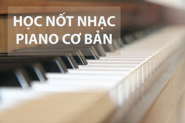 học nốt nhạc piano cơ bản
