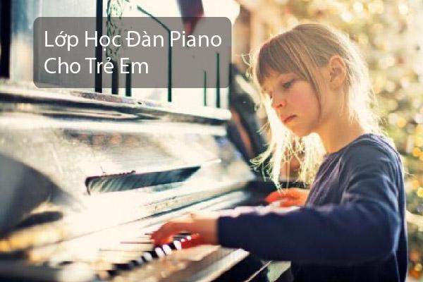lớp học đàn piano cho trẻ em