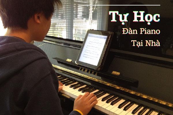 tự học đàn piano tại nhà