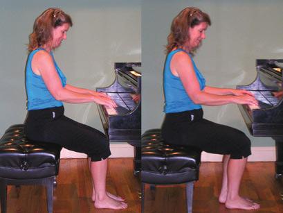 ví dụ 2 về tư thế ngồi